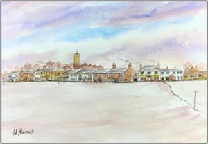 Scruton in Snow by William Holmes